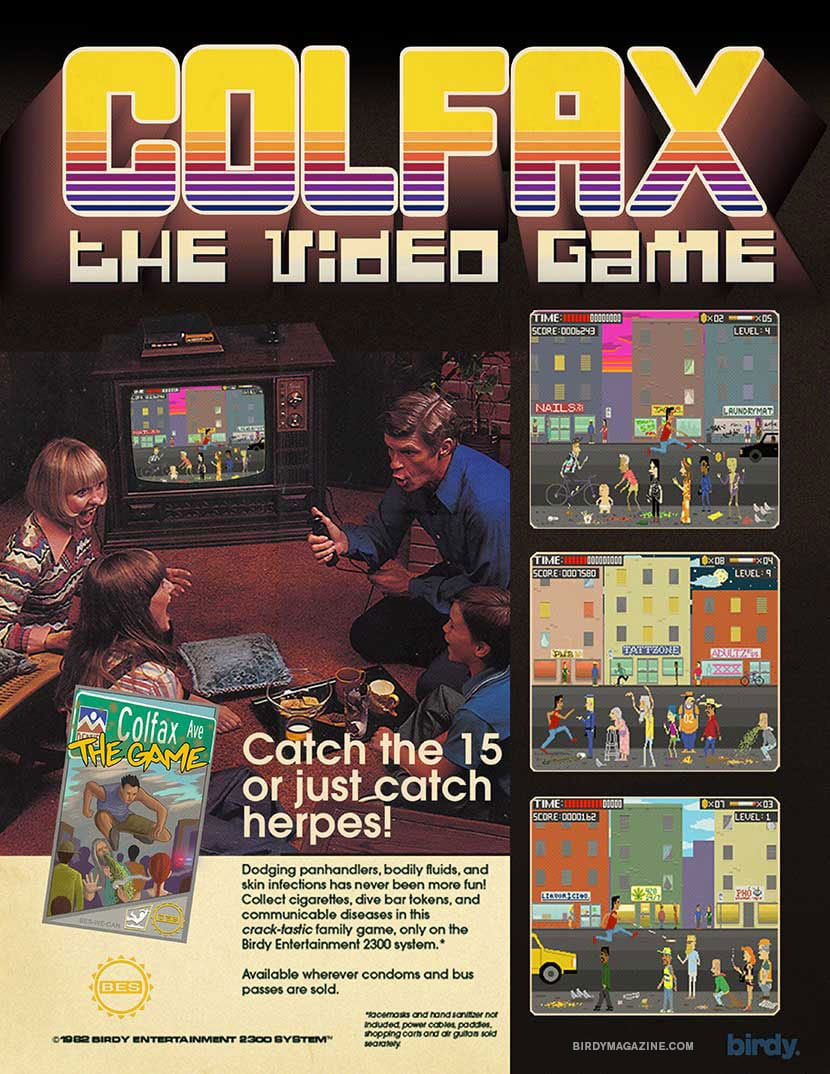 Colfax the Video Game