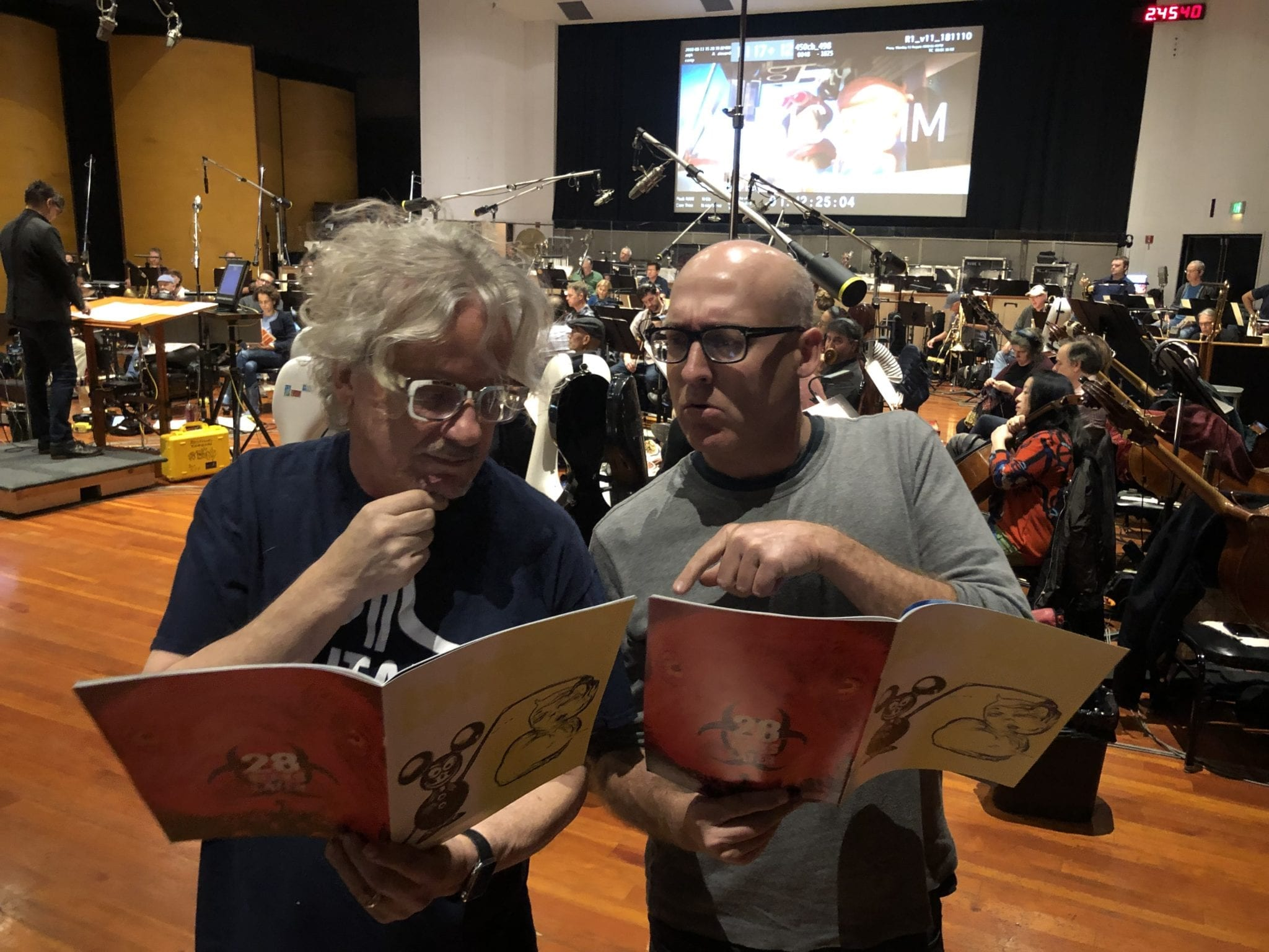 Mark Mothersbaugh and Mike Mitchell read Birdy