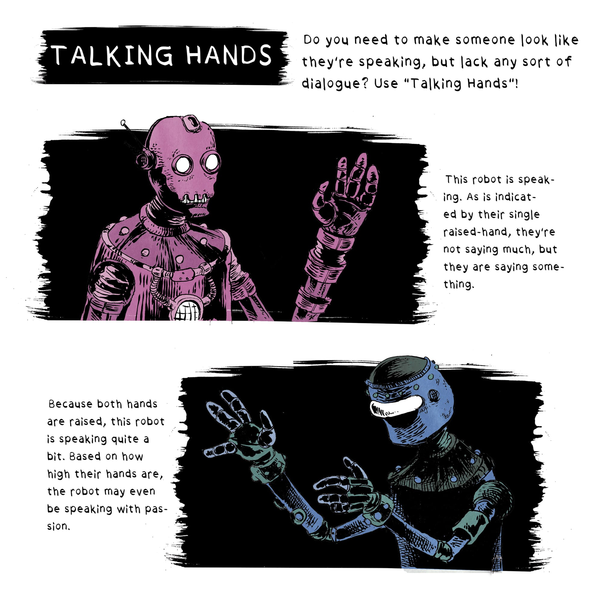 Talking Hands by Peter Glanting